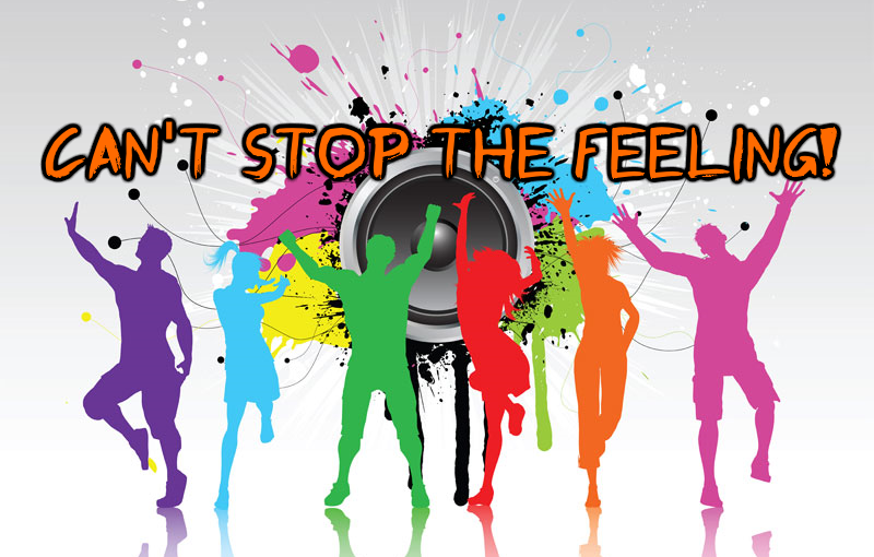 Can't Stop TheFeeling!