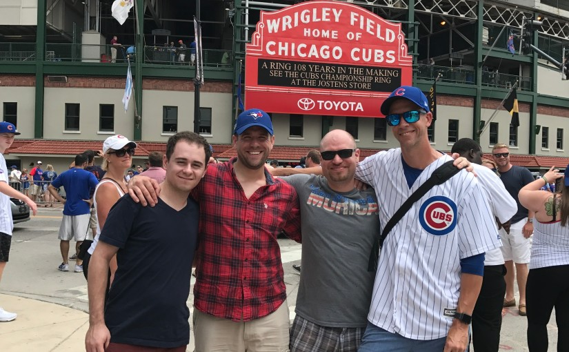 2017 Top 10 ~ My First Trip to Wrigley(#2)